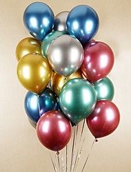 cheap -5PCS Balloons Pearl Metal Balloons Rich Color Metallic Latex Decoration for Wedding Birthday Baby Shower Graduation Party