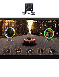 cheap -SWM 9101+4LED camera 10 inch 2 DIN Android 9.1 In-Dash Car DVD Player / Car MP5 Player / Car MP4 Player Touch Screen / GPS / Built-in Bluetooth for universal RCA / HDMI / FM2 Support MPEG / MPG / WMV