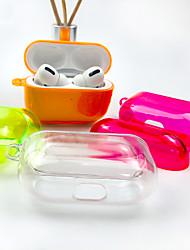 Недорогие -Airpods Pro Case PC прозрачный полный защитный чехол противоударный устойчивый к царапинам совместим с Apple Airpods Pro чехол для зарядки 2019-ясно