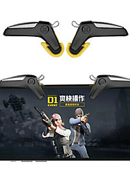 cheap -SMART PHONE MOBILE GAMING TRIGGER FOR PUBG MOBILE GAME FIRE BUTTON AIM KEY L1R1 SHOOTER CONTROLLER GAME PAD FOR IPHONE XIAOMI