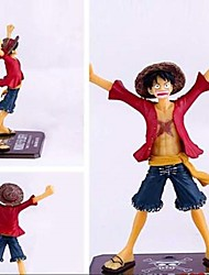 cheap -Anime Action Figures Inspired by One Piece Monkey D. Luffy CM Model Toys Doll Toy Men's Boys' Girls' Classic Fun