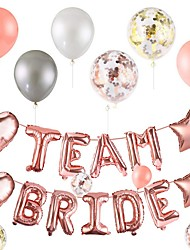cheap -Balloons Birthday Party Suppliies Latex Foil Letter Balloons Donut Grow Up Banner Confetti Balloons for Baby Shower team Party Wedding Decorations Photo Props