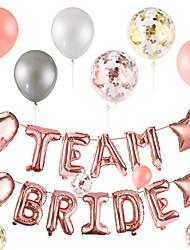 Недорогие -воздушные шары день рождения вечеринки латекс фольги письмо воздушные шары пончик растут баннер конфетти воздушные шары для душа ребенка команда свадьба украшения фото реквизит