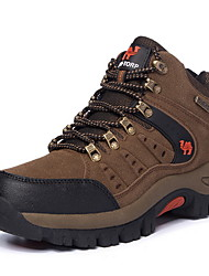 cheap -Men's Comfort Shoes Suede Fall & Winter Athletic Shoes Hiking Shoes Booties / Ankle Boots Brown / Green / Gray