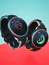 Недорогие -SmartWatch z8 с круглым экраном и поддержкой фитнес-трекера bt уведомляет / ЭКГ + ppg / частота сердечных сокращений / измерение артериального давления для телефонов Samsung / iPhone / Android