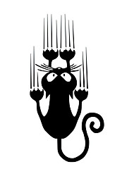 cheap -2pcs 7.5*15CM Waterproof Cat Pattern Car Sticker Funny Animal Vinyl Decal Car Window Bumper Stickers