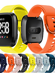 cheap -Sport Silicone Watch Band For Fitbit Versa 2 / Versa Lite Replaceable Bracelet Wrist Strap Wristband
