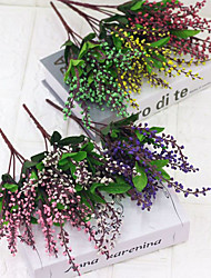 cheap -Simulation Bouquet Pearl Fruit Living Room Home Decoration Fake Flower Wedding Supplies