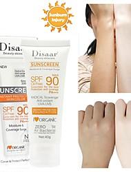 Недорогие -солнцезащитный крем отбеливающий крем водостойкий длительный уход за кожей лица spf90 солнцезащитный крем па