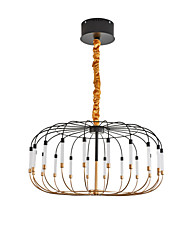 cheap -20 Bulbs LED® Sputnik Lantern Chandelier Ambient Light Painted Finishes Metal  Adorable 110-120V 220-240V