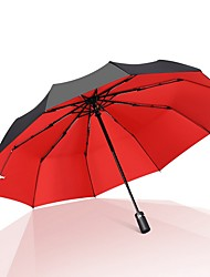 cheap -Travel Umbrella Windproof Automatic Open Close Compact Folding Umbrellas with Multiple colors