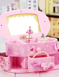 cheap -Music Box Music Jewelry box Ballet Dancer Plastic Unisex Toy Gift