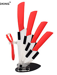 Недорогие -керамические ножи кухонные ножи 3 4 5 6 дюймов нож шеф-повара кухонный гарнитур и нож из белого циркония многоцветная ручка