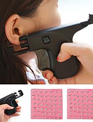 cheap -Ear Piercing Gun Kit Ear Pierce Gun Set Safety Ear Pierce Gun with Ear Studs Earrings Tool