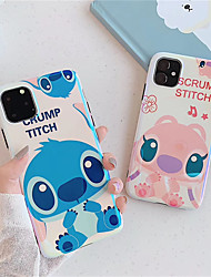 cheap -Case For Apple iPhone 11 / iPhone 11 Pro / iPhone 11 Pro Max Shockproof / Plating / Ultra-thin Full Body Cases Cartoon TPU