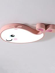 Недорогие -светодиодный потолочный светильник простой современный спальня лампа кит детская комната лампа творческий мультфильм комната защиты глаз лампа 30 Вт