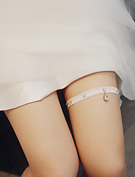 cheap -Lace Wedding / Simple Style Wedding Garter With Lace / Glitter / Metal Garters Wedding Party