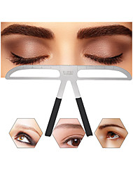 cheap -Eyebrow Shaping Stencils Grooming Kit Makeup Shaper Set Template Beauty Tool Adjustable Makeup Tool
