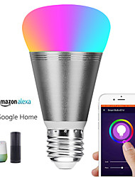 cheap -Alexa Intelligent Bulb WiFi Remote Control Wireless LED Bulb Dimming And Color Mixing Colorful Atmosphere Lamp-11W