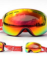 Недорогие -BASTO Лыжные очки для Взрослые Зимние виды спорта Водонепроницаемый Регулируемый размер