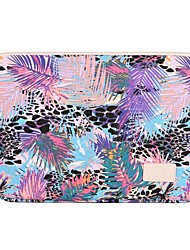 cheap -13.3 Inch Laptop / 14 Inch Laptop / 15.6 Inch Laptop Sleeve Polyester / Canvas Trees / Leaves for Men for Women for Business Office Water Proof Shock Proof