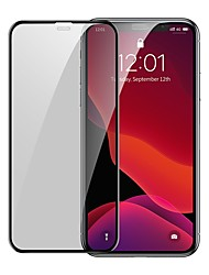 cheap -Baseus 0.3mm Full-screen and Full-glass Tempered Glass Film(2pcspackPasting Artifact) for iP 6.1inch2019Black