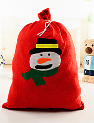 Недорогие -1шт 2015 продажа Рождество большой аппликацией подарок мешок (случайный цвет)