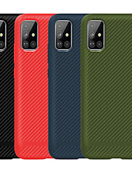 cheap -Case For Samsung Galaxy Galaxy S10 / Galaxy S10 Lite / Galaxy A10(2019) Frosted Back Cover / Full Body Cases Solid Colored TPU