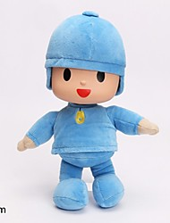 cheap -Pocoyo Doll Plush Toys White Color With 100%PP Cotton High-Quality 30cm Tall