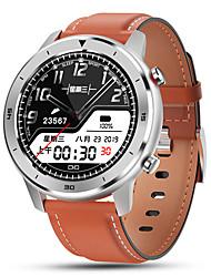 Недорогие -Смарт Часы Цифровой Современный Спортивные силиконовый Искусственная кожа 30 m Защита от влаги Пульсомер Bluetooth Цифровой На каждый день На открытом воздухе - Черный Коричневый Черный / серый