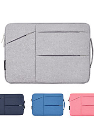 cheap -11.6 Inch Laptop / 12 Inch Laptop / 13.3 Inch Laptop Sleeve Polyester / Canvas Solid Color for Men for Women for Business Office Water Proof Shock Proof