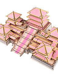 cheap -3D Puzzle Paper Model Model Building Kit Castle Famous buildings DIY Hard Card Paper Classic Kid's Unisex Boys' Toy Gift