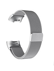 cheap -Watch Band for Fitbit Charge 3 Fitbit Milanese Loop Stainless Steel Wrist Strap L(235mm)  S(1998mm)