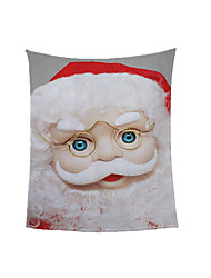 cheap -Hot Foreign Trade Christmas Blanket Ready Made Winter Thickened Warm Coral Throw Blanket