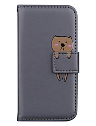 cheap -Case For Huawei Huawei P20 Pro / Huawei P20 lite / Huawei P30 Card Holder / with Stand / Pattern Full Body Cases Animal / Cartoon PU Leather for Huawei mate20 pro mate 20 lite p30 p30 pro