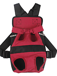 cheap -Rodents Dog Cat Carrier & Travel Backpack Pet Carrier Portable Camping & Hiking Travel Creative Geometric Classic Black Red Beige