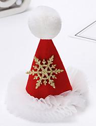 Недорогие -Жен. Назначение Рождество фестиваль Ткань Красный 1шт