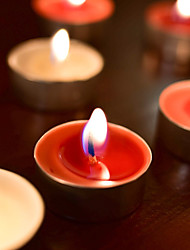 cheap -50PCS Smokeless Aromatherapy Candle Valentine's Decoration Home Decoration