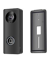 Недорогие -Беспроводной Wi-Fi видео дверной звонок для смартфонов&усилитель, усилитель; ip-видео домофон с низким энергопотреблением