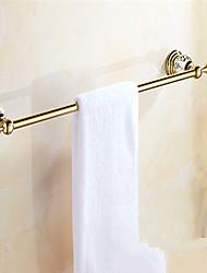 cheap -Towel Bar New Design Modern Brass 1pc - Bathroom / Hotel bath Single Wall Mounted
