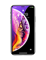 cheap -Baseus 0.3mm Rigid-edge curved-screen tempered glass screen protector with anti-blue light For iP 6.1(2018) Black