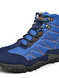 cheap -Men's Comfort Shoes Mesh Fall & Winter Boots Booties / Ankle Boots Black / Blue / Gray