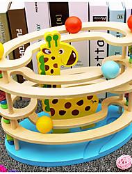abordables -Set de Circuits à Billes Circuit à Bille Locomotive à vapeur Créatif Interaction parent-enfant En bois Plastique souple Enfant Tous Jouet Cadeau
