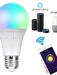 cheap -WiFi Intelligent Bulb 11W Alexa Voice Control RGB Color Changing LED Bulb Lamp App Remote Control