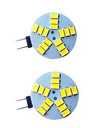 cheap -2pcs 3 W LED Bi-pin Lights 300 lm G4 15 LED Beads SMD 5733 9-30 V