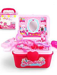Недорогие -дети ультра тонкой ювелирных изделий коробки макияж девушки играют набор игрушек моделирования