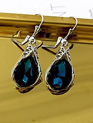 cheap -Women's Drop Earrings Earrings Set Classic Drop Earrings Jewelry Dark Blue For Engagement Daily Festival 1 Pair