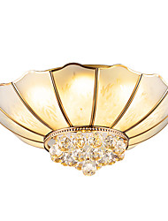 cheap -Lightinthebox 5-Light 56 cm Crystal / Matte Flush Mount Lights Copper Glass Crystal / Empire Artistic / Nordic Style 220-240V