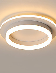 cheap -2-Light Nordic Minimal Corridor Lamp Corridor Lamp Kitchen Entrance Hall Porch Balcony Lamp Circular Ceiling Lamp Household Lamps
