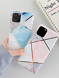cheap -Case For Apple iPhone 11 / iPhone 11 Pro / iPhone 11 Pro Max Shockproof / Ultra-thin Full Body Cases Marble TPU